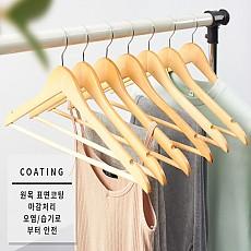 옷걸이(바형)[40cm/원목]