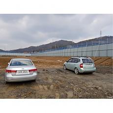 경남기업 의정부 고산 가설 울타리